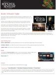 Landing page for Joey Kramer's Rockin' & Roastin' Coffee