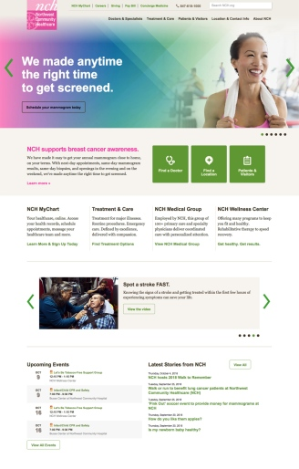 NCH home page